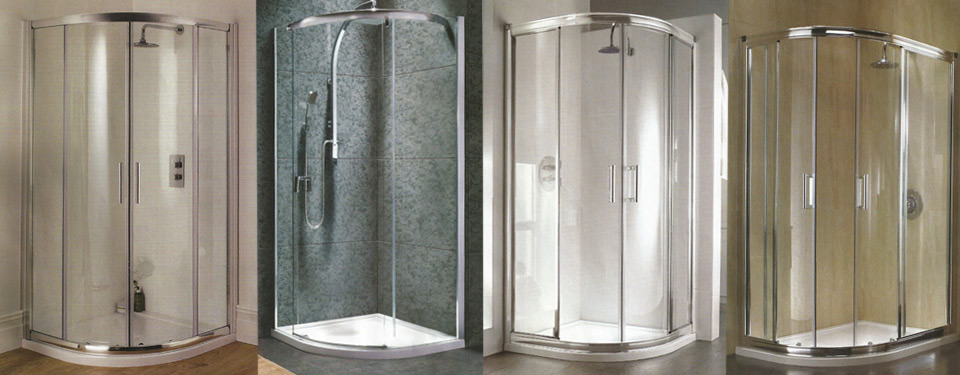 A selection of our showers